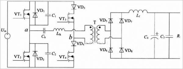 以移相全桥为主电路的软开关电源设计全解