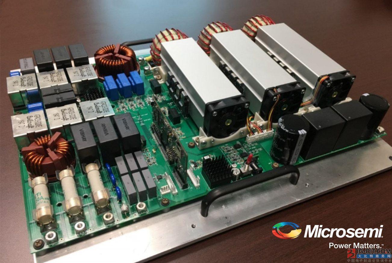 美高森美新型30 kW三相Vienna PFC参考设计充分利用 其领先的SiC二极管和MOSFET器件以提供高稳