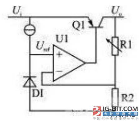 电子电路中经常使用的实际电源器件由两种: 1),线性稳压器: 这种电源