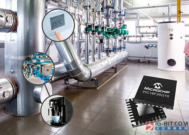 Microchip is brand-new PIC and AVR MCU can improve systematic performance in closed-loop control application