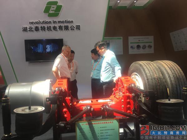 新能源变速器领域颠覆性创新—首台量产轮毂电机驱动桥诞生