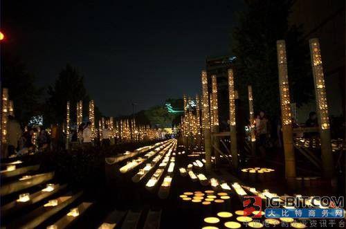 中国LED景观照明市场强劲 大峡谷光电将在中国上市