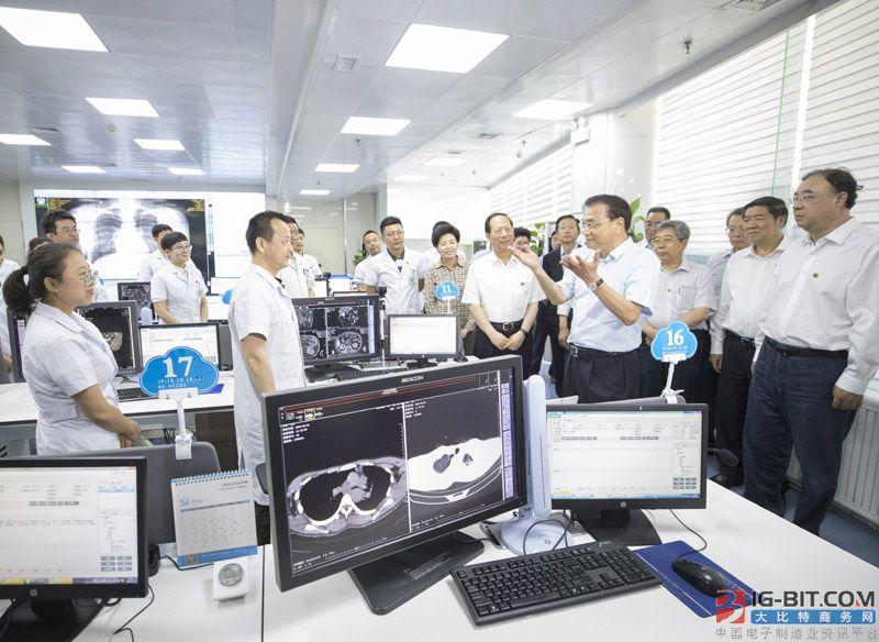 """李克强总理宁夏考察 鼓励建立""""互联网+医疗健康""""示范区"""