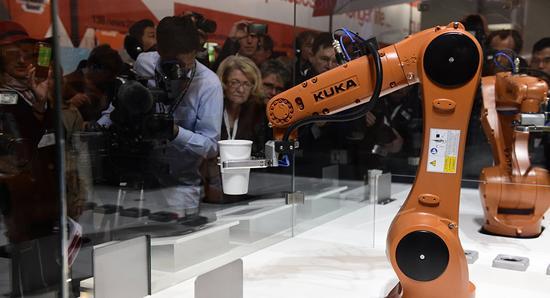 德国工业机器人销售创新高