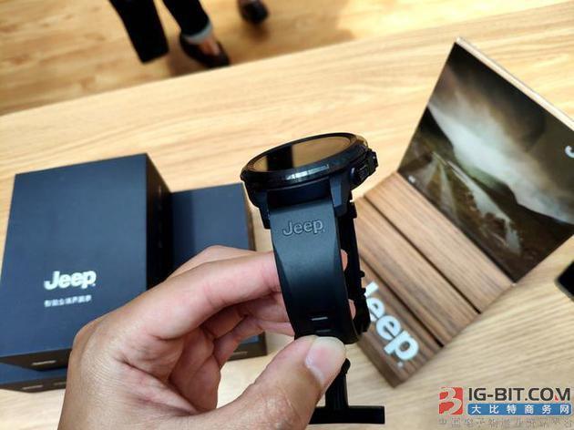 Jeep联合FERACE发布智能手表:支持4G全网通