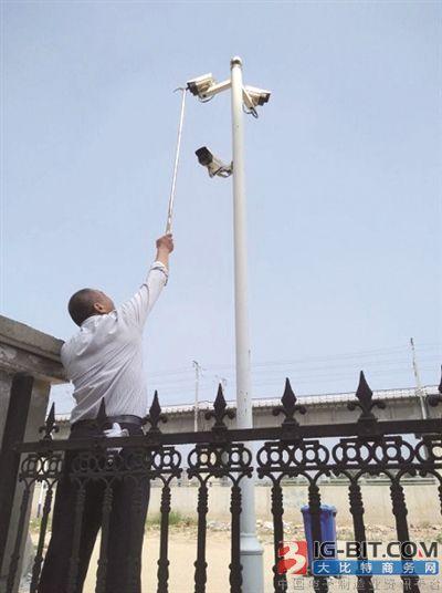安防摄像头助力社区监控系统