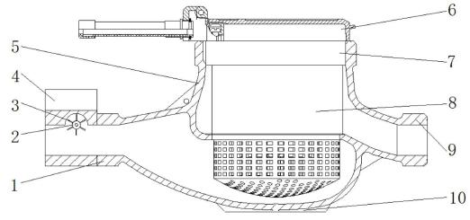 【仪表专利】硅黄铜无铅智能水表