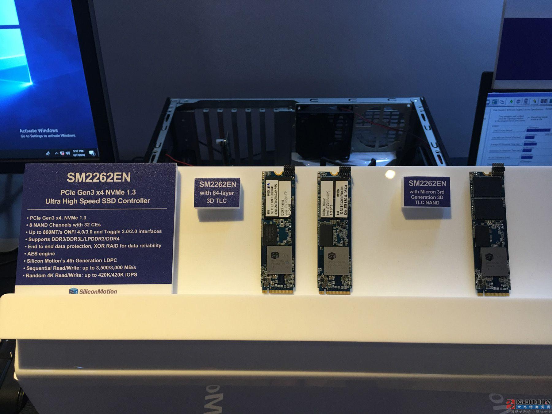慧荣科技推出最新PCIe NVMe SSD控制芯片,超高性能表现引领主流��场