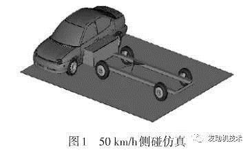 基于侧面碰撞安全性的电动汽车车身结构件轻量化设计