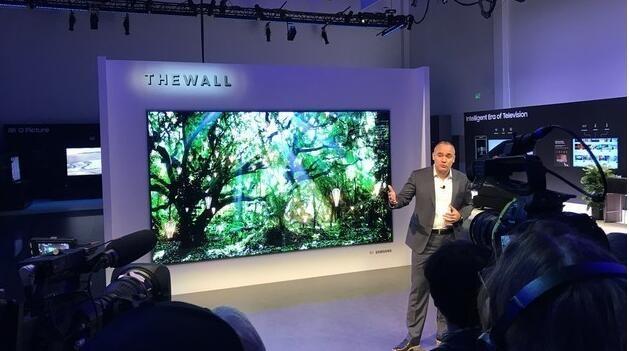 三星MicroLED电视开启预购 预计第三季出货