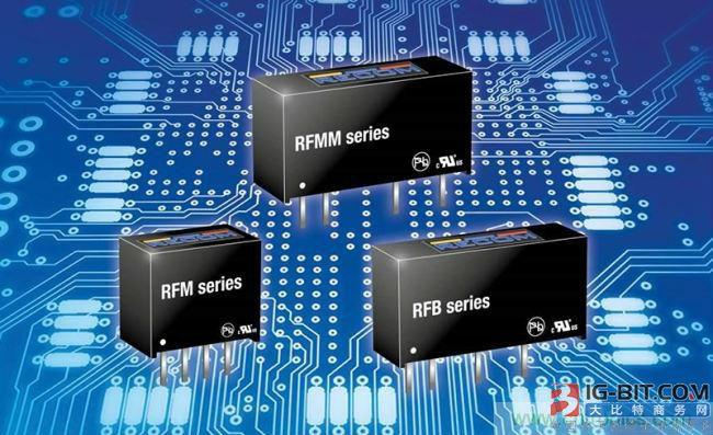 儒卓力推出RECOM Power1W隔离式DC/DC转换器