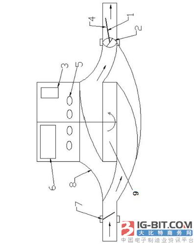 【仪表专利】一种基于压电陶瓷自供电的智能水表