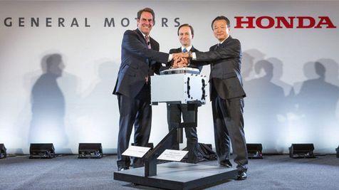 本田与通用合作开发新一代电池