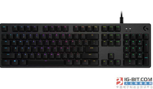 罗技发布G512游戏键盘新品:采用GX Blue键轴