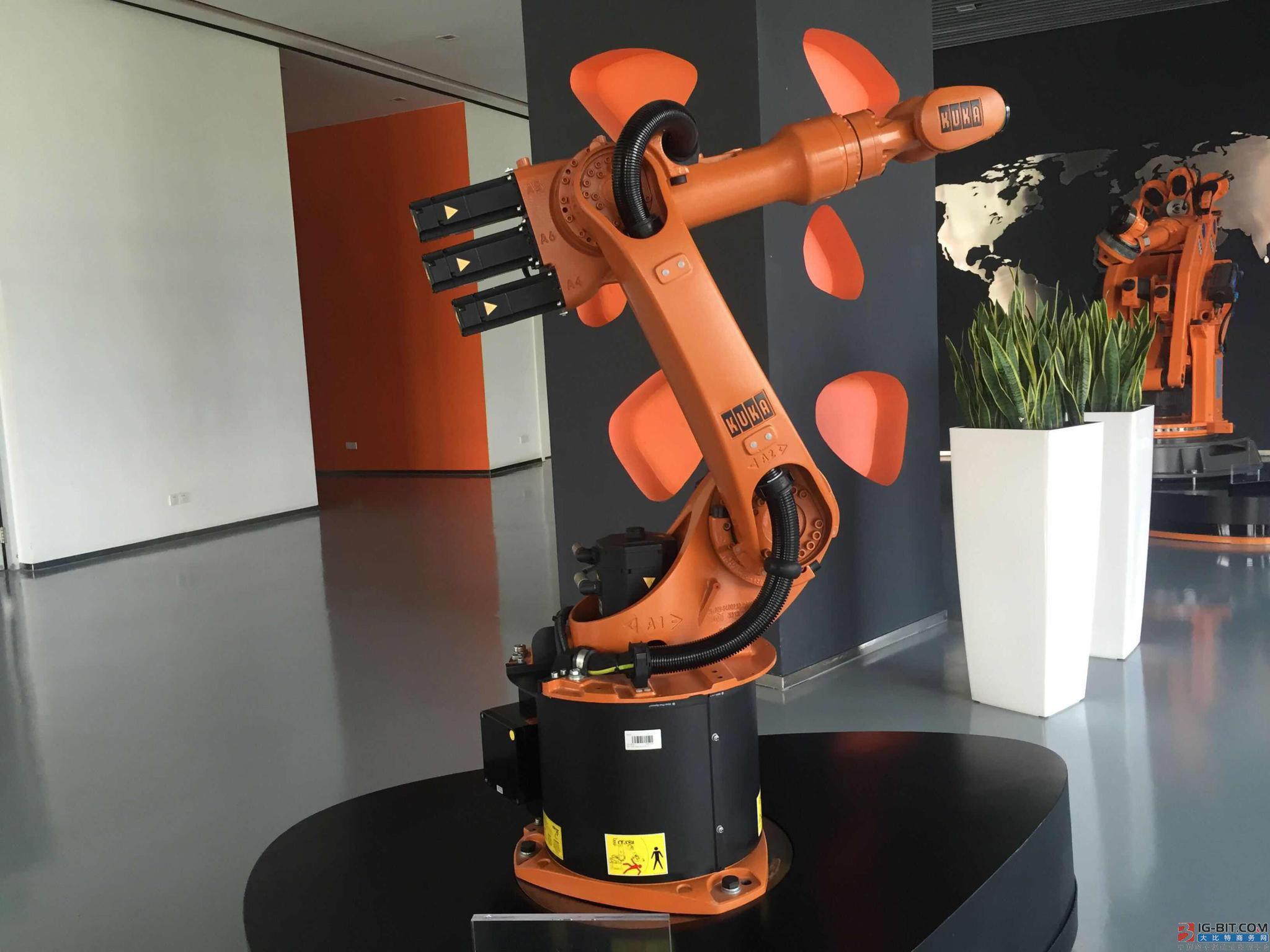 库卡欲在2020年前成中国机器人制造第一