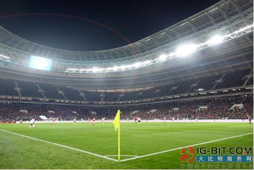 世界杯今晚开打,LED照亮2018世界杯球馆