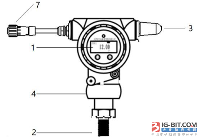 【仪表专利】基于LoRa通信的微功耗无线温度压力变送器