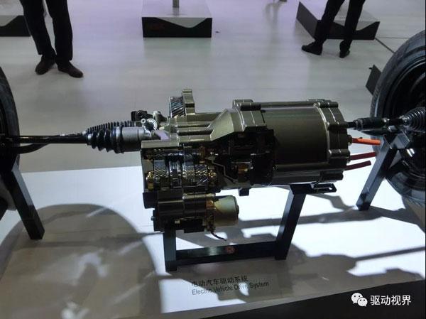 电动汽车电驱系统轻量化 小型化发展趋势及实现路径