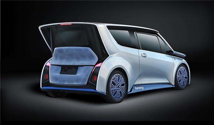 汉能集团推出第三款搭载全太阳能电池的车型