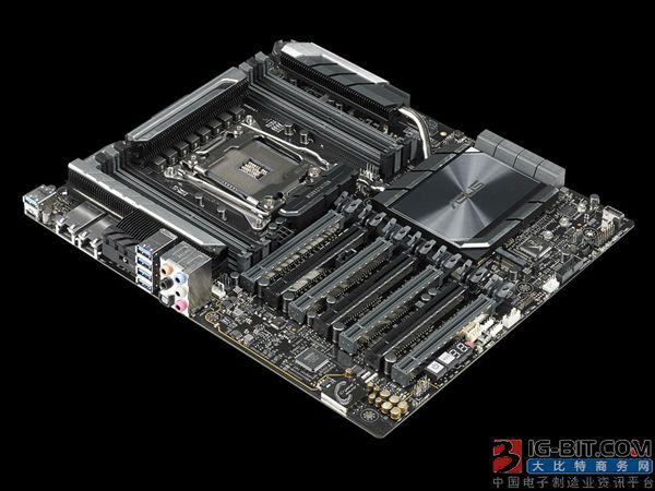 华硕新发X299旗舰工作站主板:升级双万兆网卡
