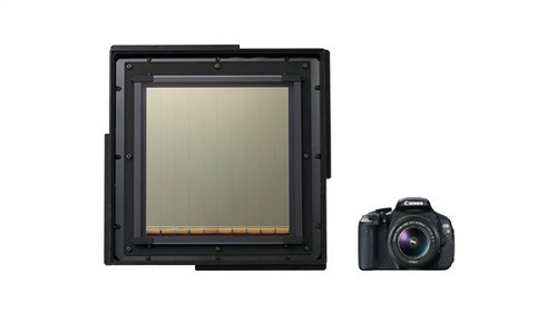 佳能推出世界最大CMOS图像传感器