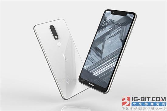 Nokia 5.1 Plus曝光:刘海屏+后置双摄