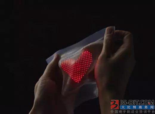 东京大学和DNP联合开发自由伸缩皮肤显示
