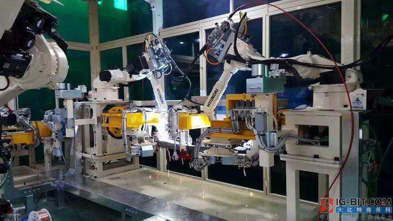 哈工智能与工业机器人企业现代重工战略合作