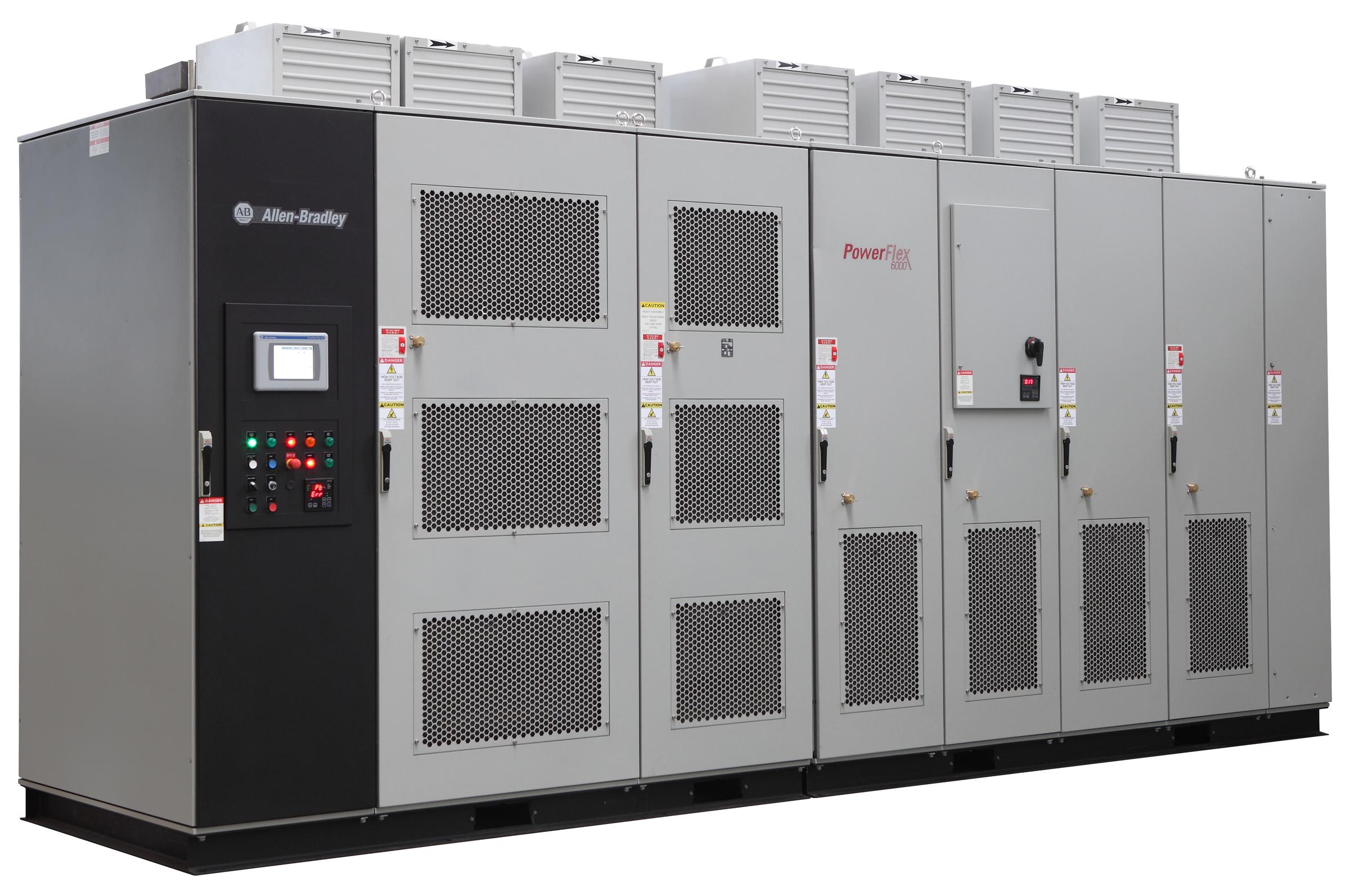 罗克韦尔自动化PowerFlex 6000变频器再增全新无传感器矢量控制功能