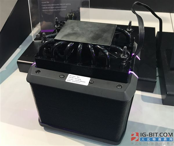 AMD 32核心热设计功耗达250W 酷冷至尊定制巨型散热器
