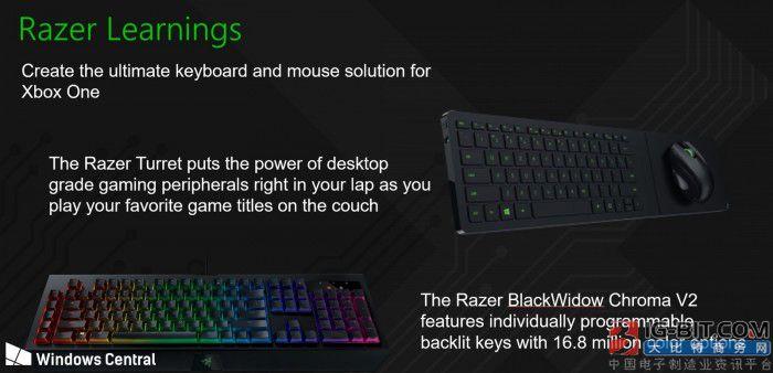 微软疑与雷蛇联手打造Xbox鼠标和键盘