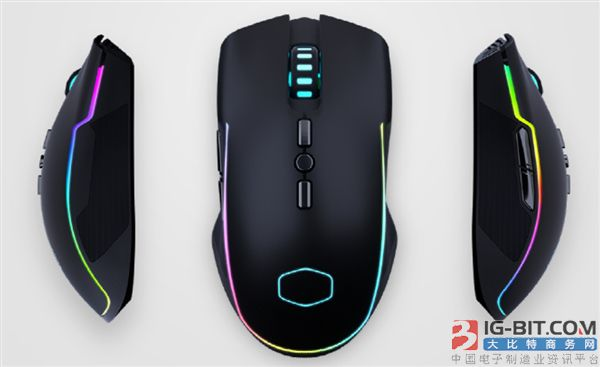 酷冷至尊发布CM310游戏鼠标:左右对称设计