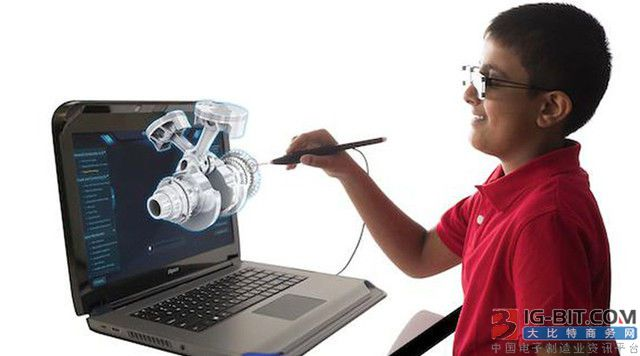 zSpace研发VR笔记本电脑,可将屏幕中图片带到现实