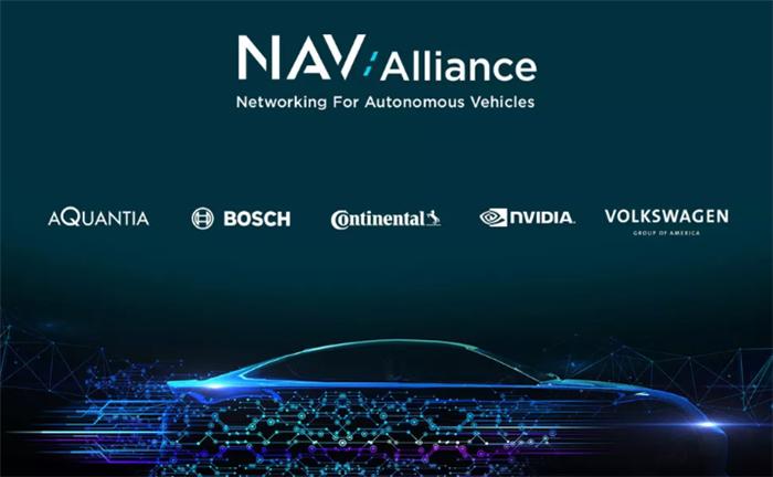 大众与四大供应商组成联盟 共同建立自动驾驶行业标准