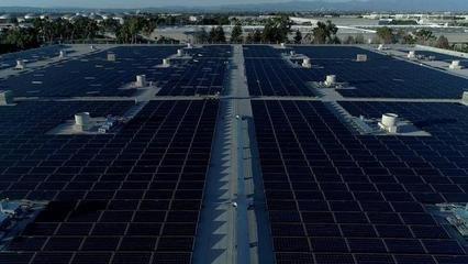 本田在美国打造全球最大太阳能系统