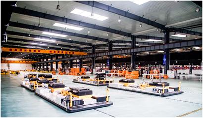 新松AGV机器人在汽车行业保有量超过4000台