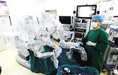 手术机器人 提升医疗服务质量
