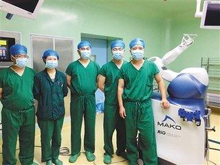 上海六院海口医院引入关节机器人 手术有望更精准