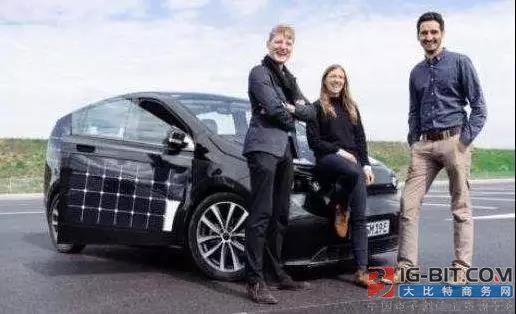 德国打算将在2019量产单晶电池太阳能汽车
