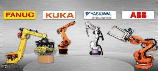 """工业机器人""""四大家族"""":抢占万亿自动化改造市场"""