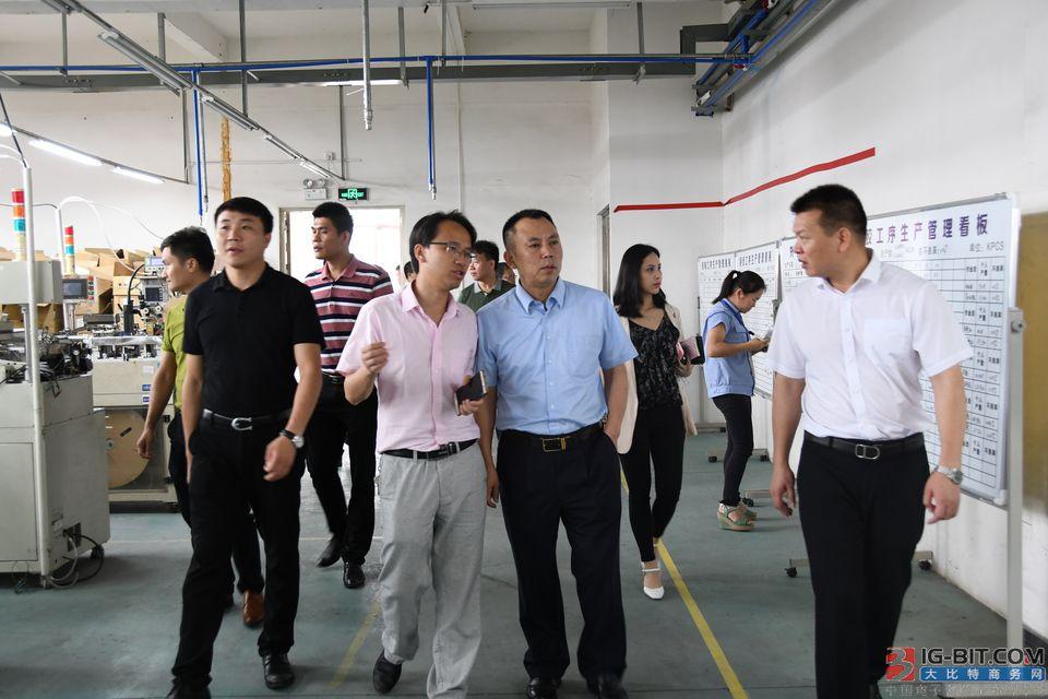 广东省电子变压器电感器行业协会组团赴永州考察