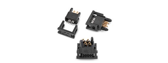 无焊接和直插式连接器