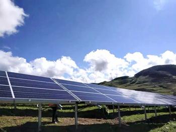 国内首个采用高效叠瓦组件的光伏电站投运
