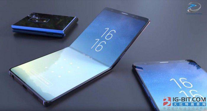 """三星华为""""占位"""" 可折叠屏手机提前开战?"""