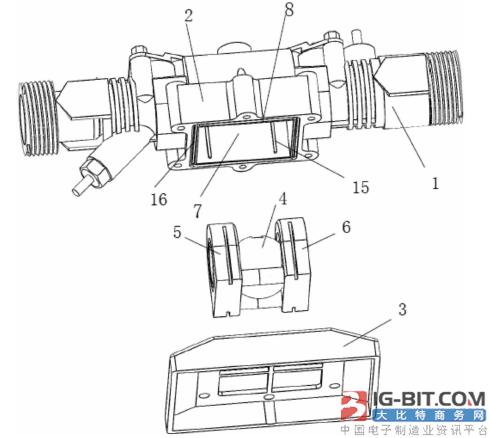 【仪表专利】便于安装球阀的超声波水表