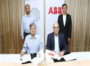 ABB携手IIT Roorkee 推动智能配电系统