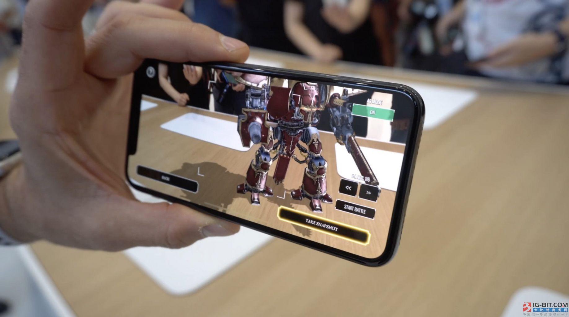 AR将成苹果吸金利器:三年增长110亿美元