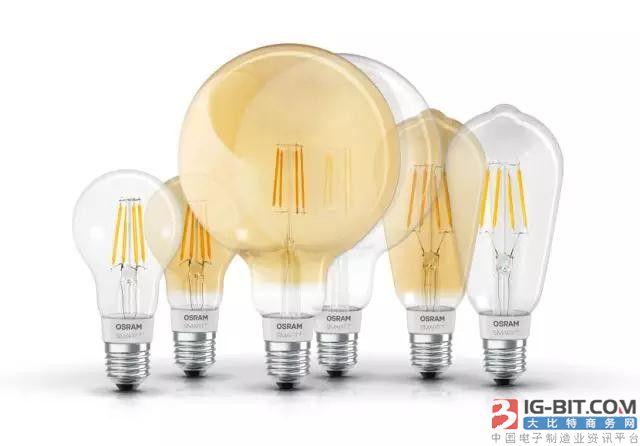 LEDVANCE在欧洲推出兼容Apple HomeKit的灯丝灯