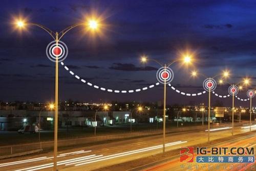深圳首条智慧道路:路灯能发射WiFi