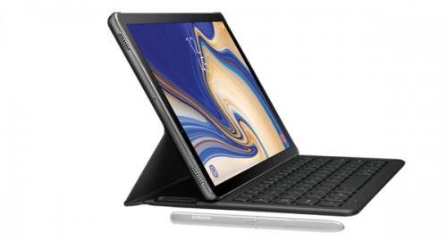 三星Galaxy Tab S4平板电脑:配套键盘+手写笔
